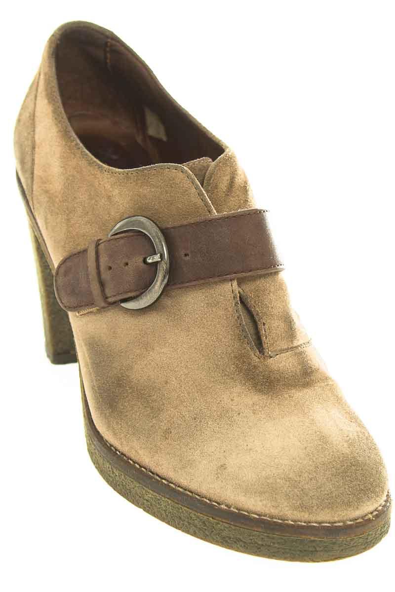 Zapatos Botín color Café - Sax