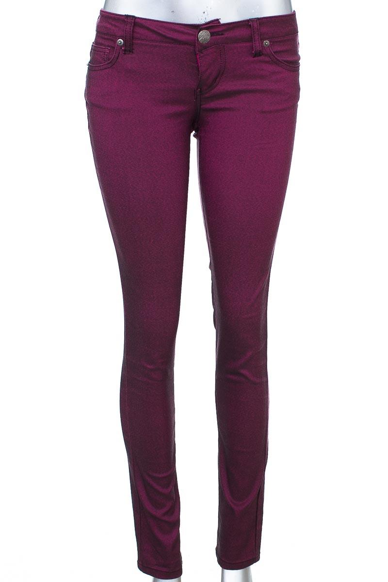 Pantalón Casual color Morado - Celebrity Pink
