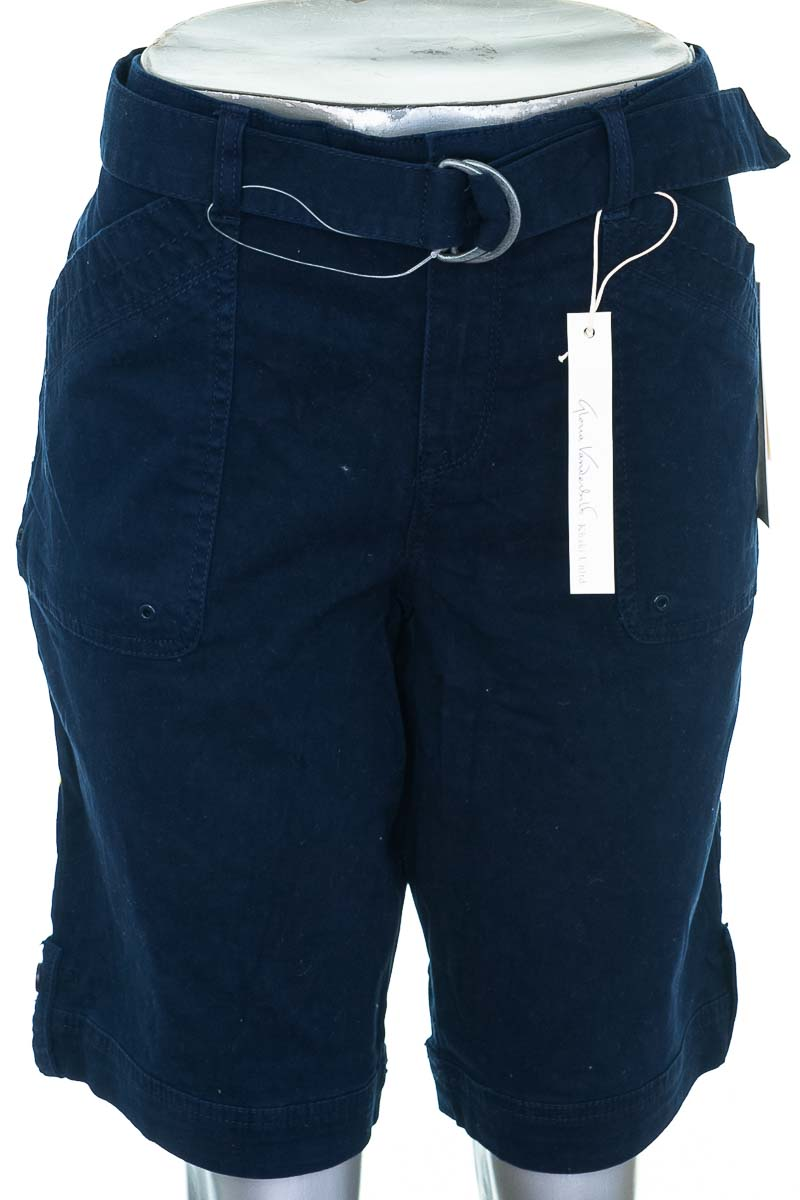 Short Casual color Azul - Gloria Vanderbilt