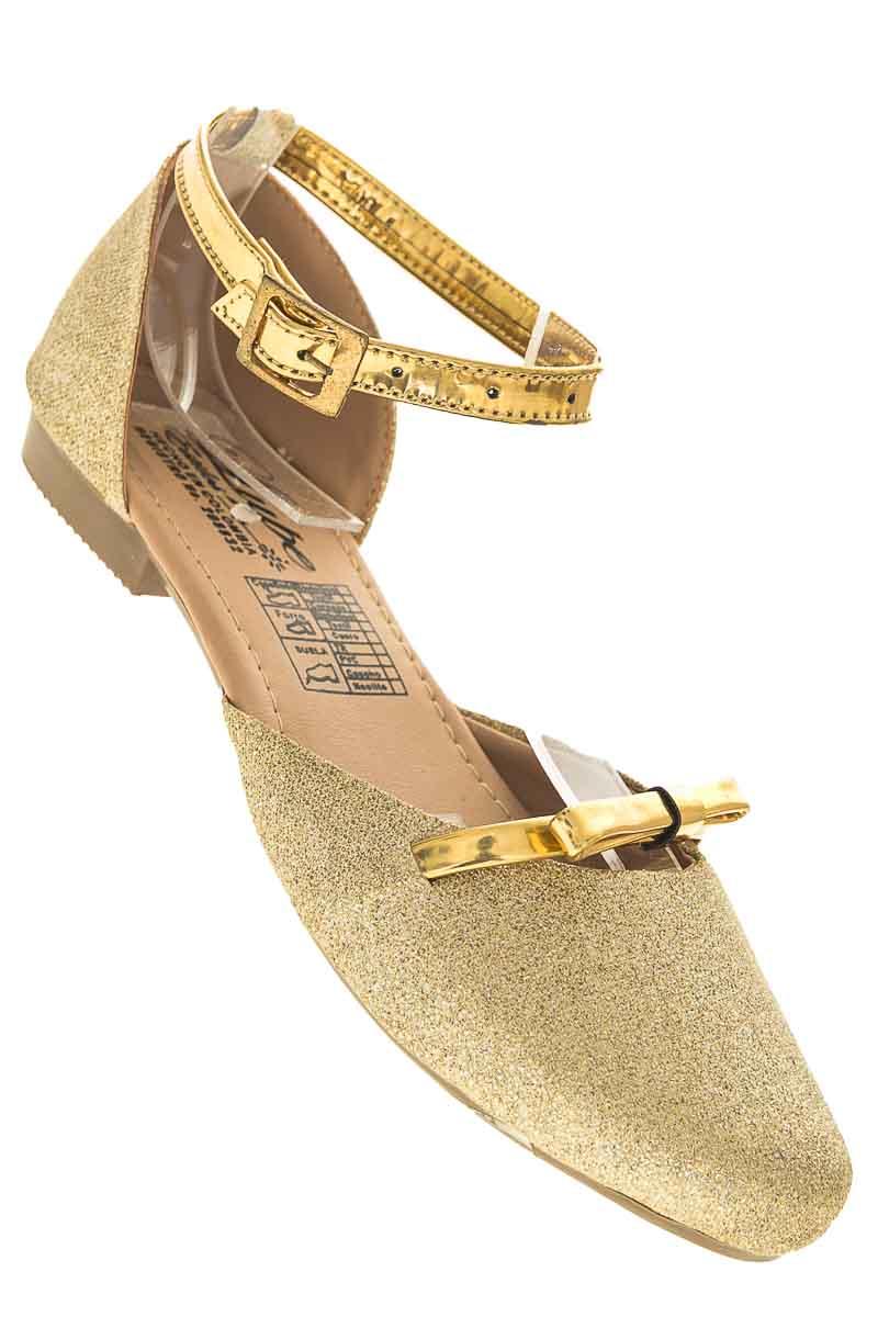 Zapatos Baleta color Dorado - Lupe