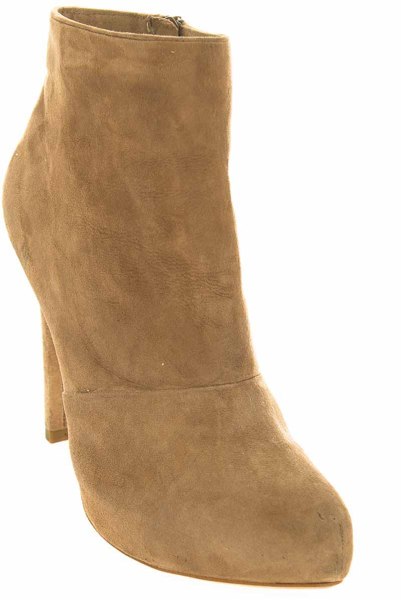 Zapatos Botín color Beige - Zara