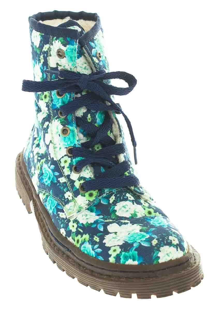 Zapatos color Azul - Zarela
