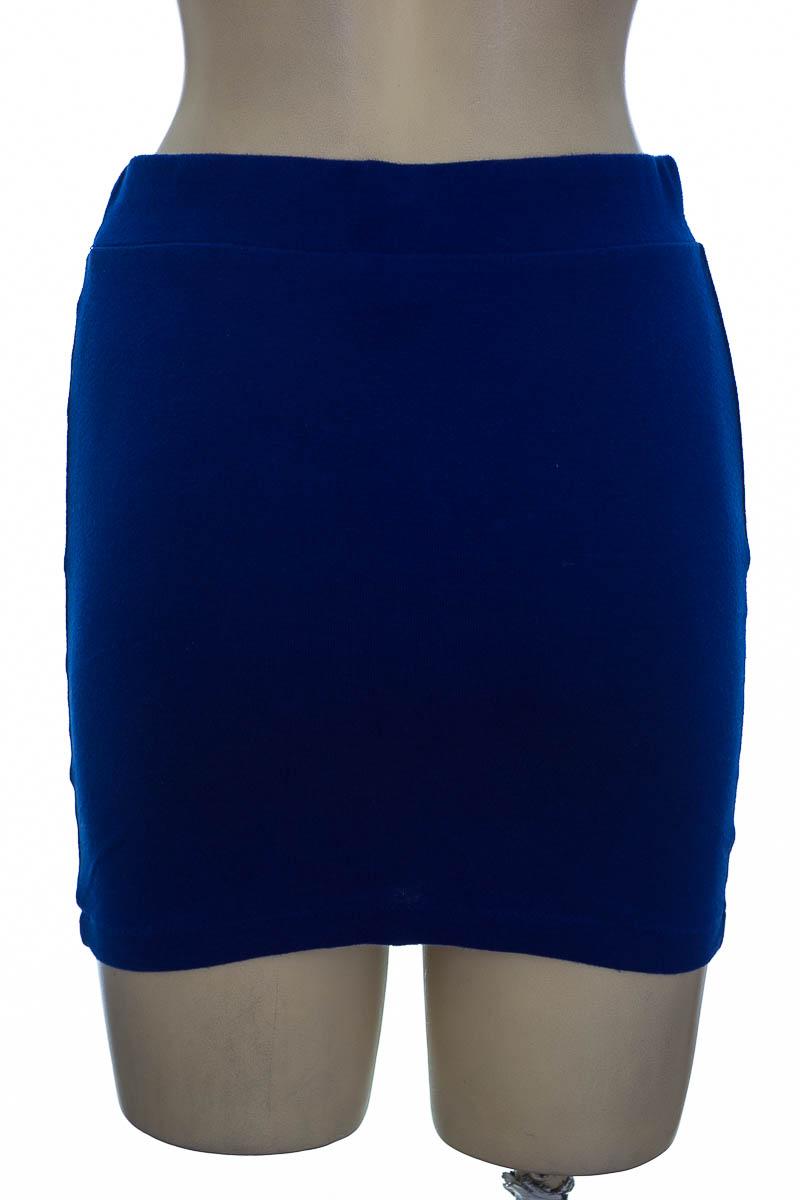 Falda color Azul - Forever 21