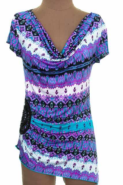 Blusa color Morado - Dots