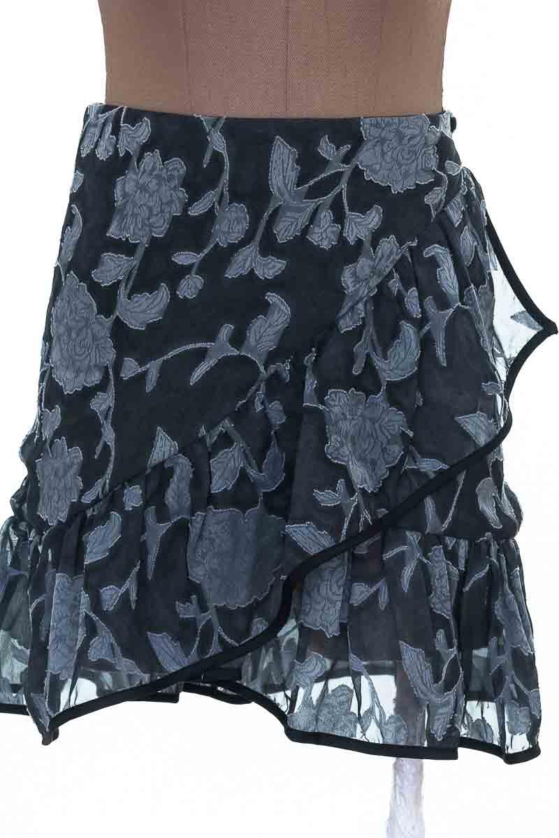 Falda Casual color Negro - Revie W
