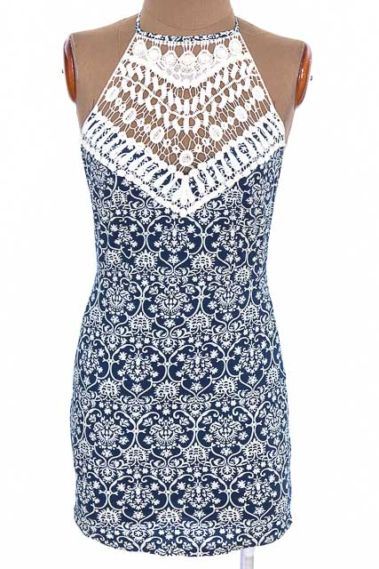 Vestido / Enterizo Casual color Azul - DEPRI