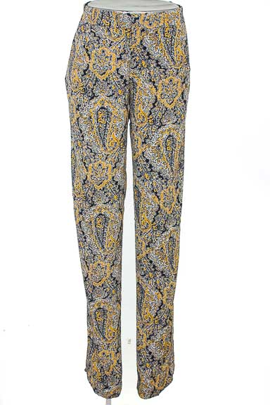 Pantalón Casual color Amarillo - Zara