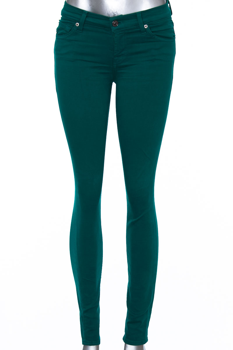 Pantalón Jeans color Verde - 7 For All Mankind