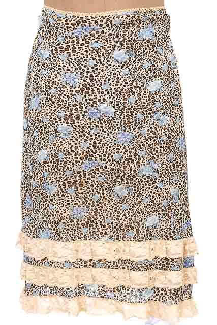 Falda Casual color Beige - MISQUÍ