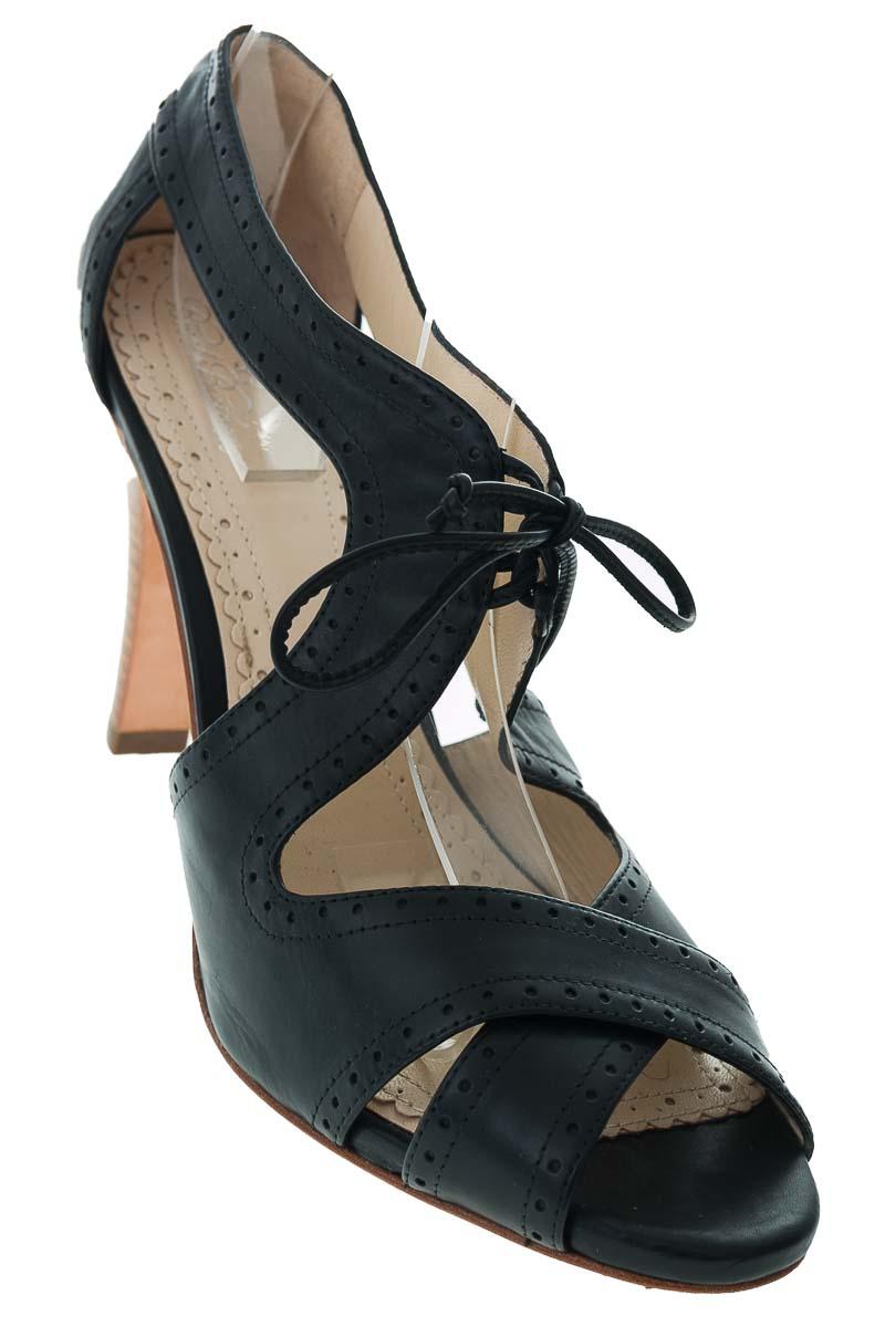 Zapatos Sandalia color Negro - Brooks & Brothers