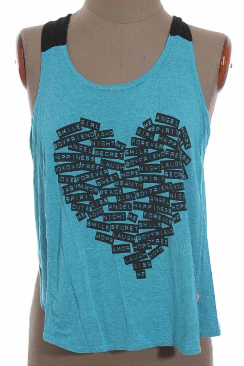 Top / Camiseta color Azul - Carmel