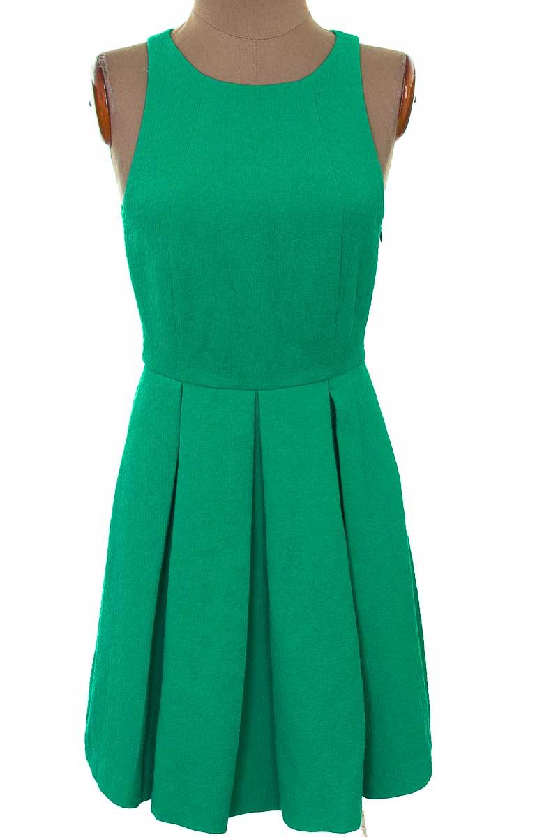 Vestido / Enterizo Fiesta color Verde - Zara