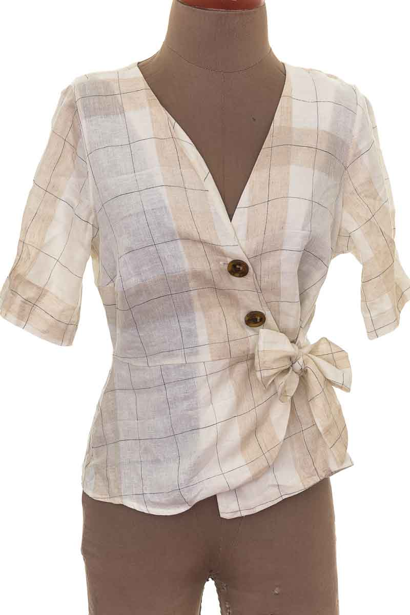 Blusa Formal color Beige - ELA