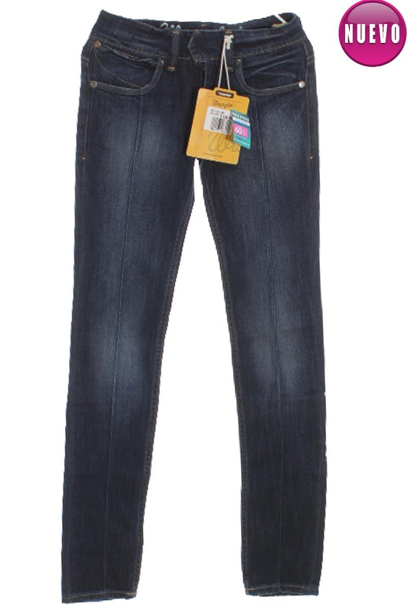 Pantalón color Azul - Wrangler