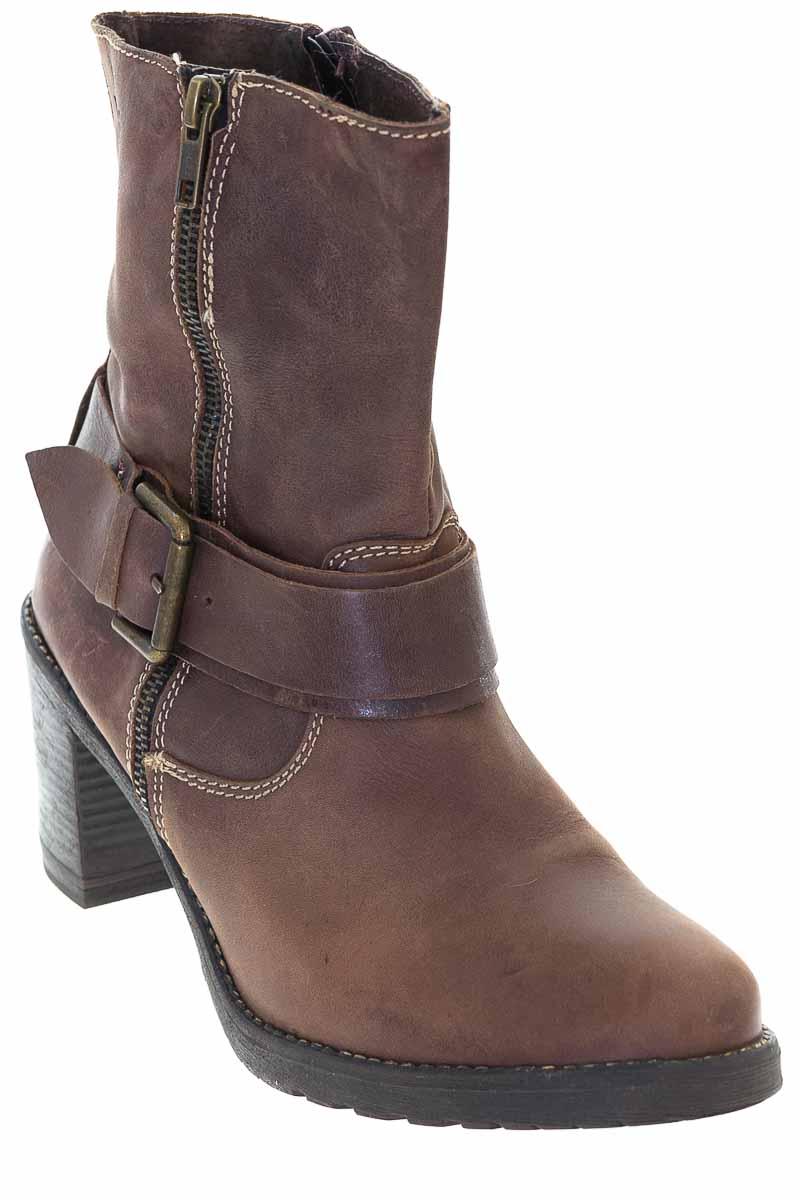 Zapatos Bota color Café - XTI
