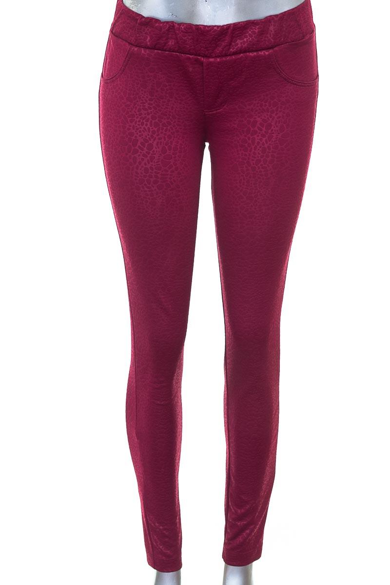 Pantalón Casual color Vinotinto - RAGGED