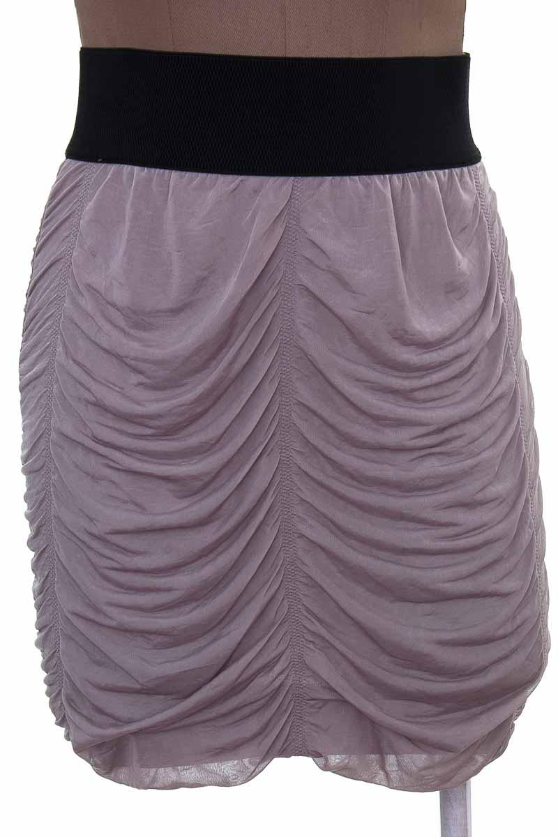 Falda Casual color Beige - FDS
