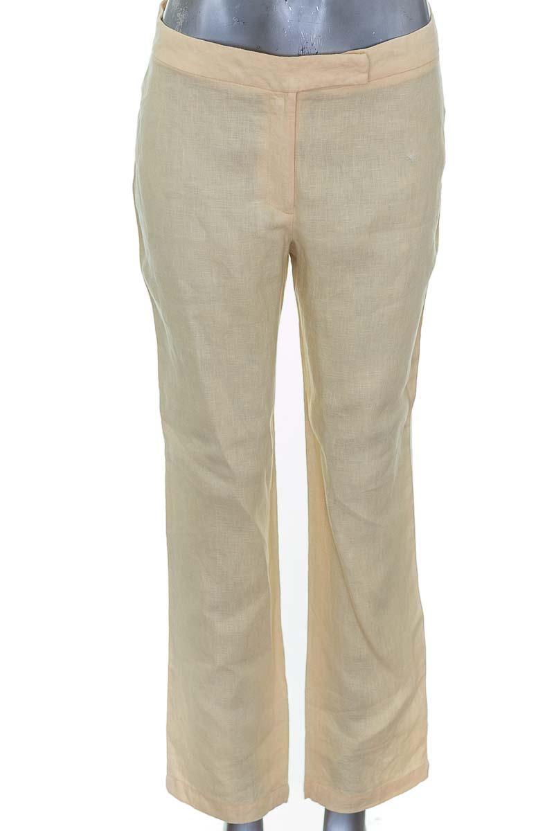 Pantalón color Amarillo - Rebeca Rojas