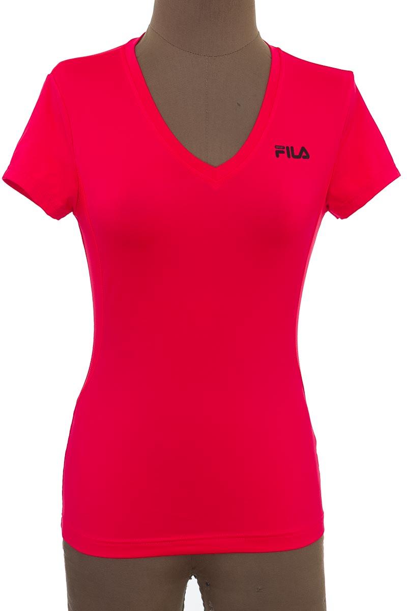 Ropa Deportiva / Salida de Baño Camiseta color Fucsia - Fila