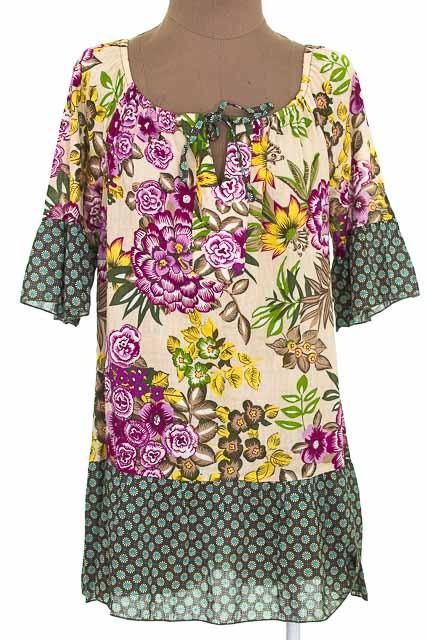 Blusa color Estampado - A C