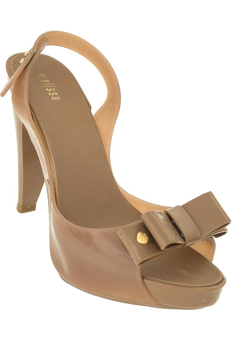 Zapatos Sandalia color Café - Melissa