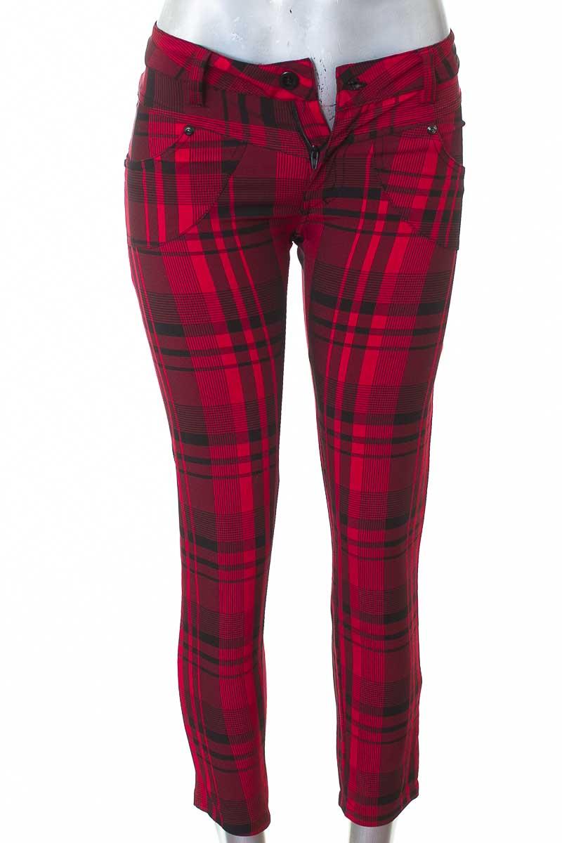 Pantalón Casual color Rojo - Xiomi Collection