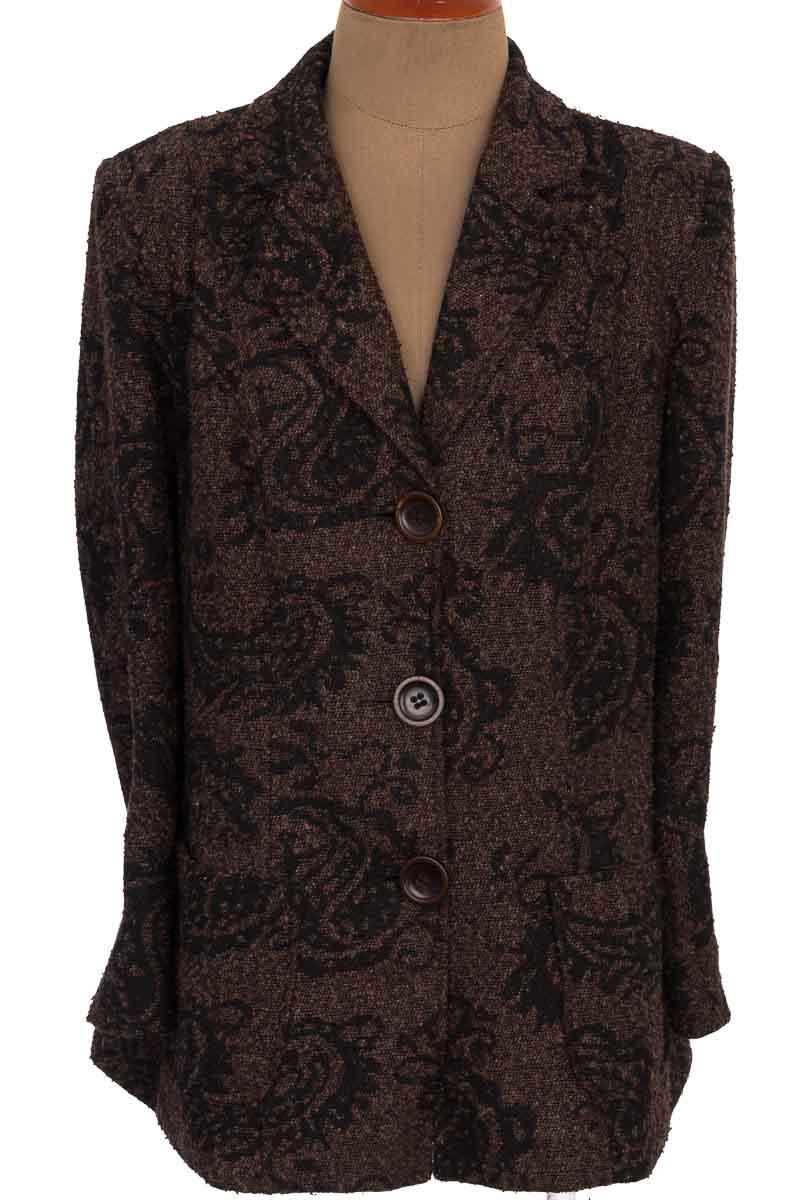 Chaqueta / Abrigo color Negro - VALERIA