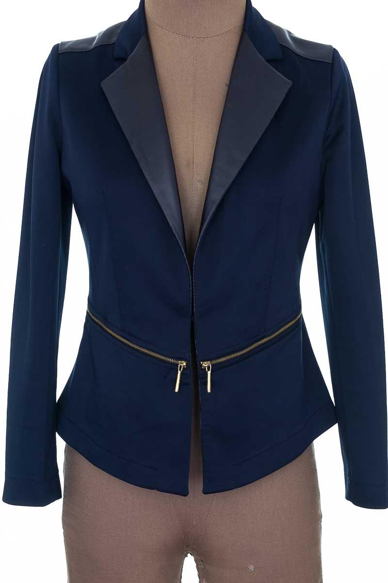 Chaqueta / Abrigo color Azul - Diseños Aguilera