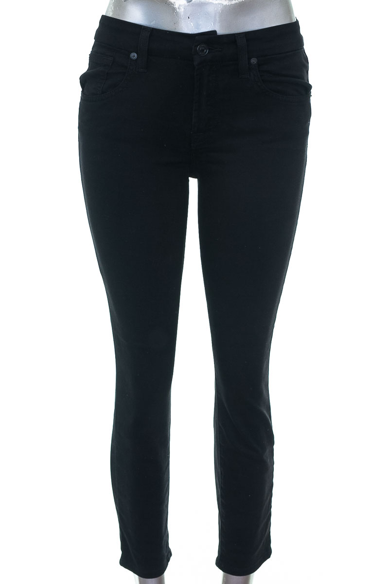 Pantalón Jeans color Negro - FOR ALL 7 MOMKIND