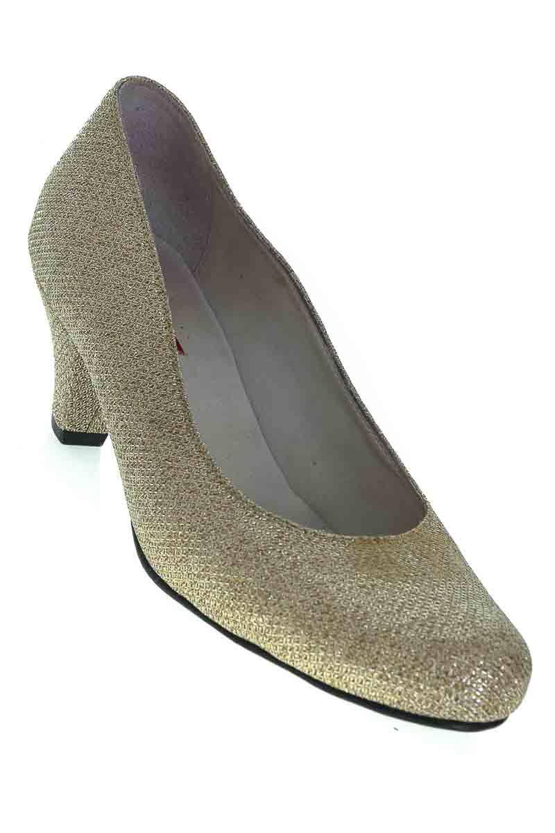 Zapatos color Dorado - FAIROUB