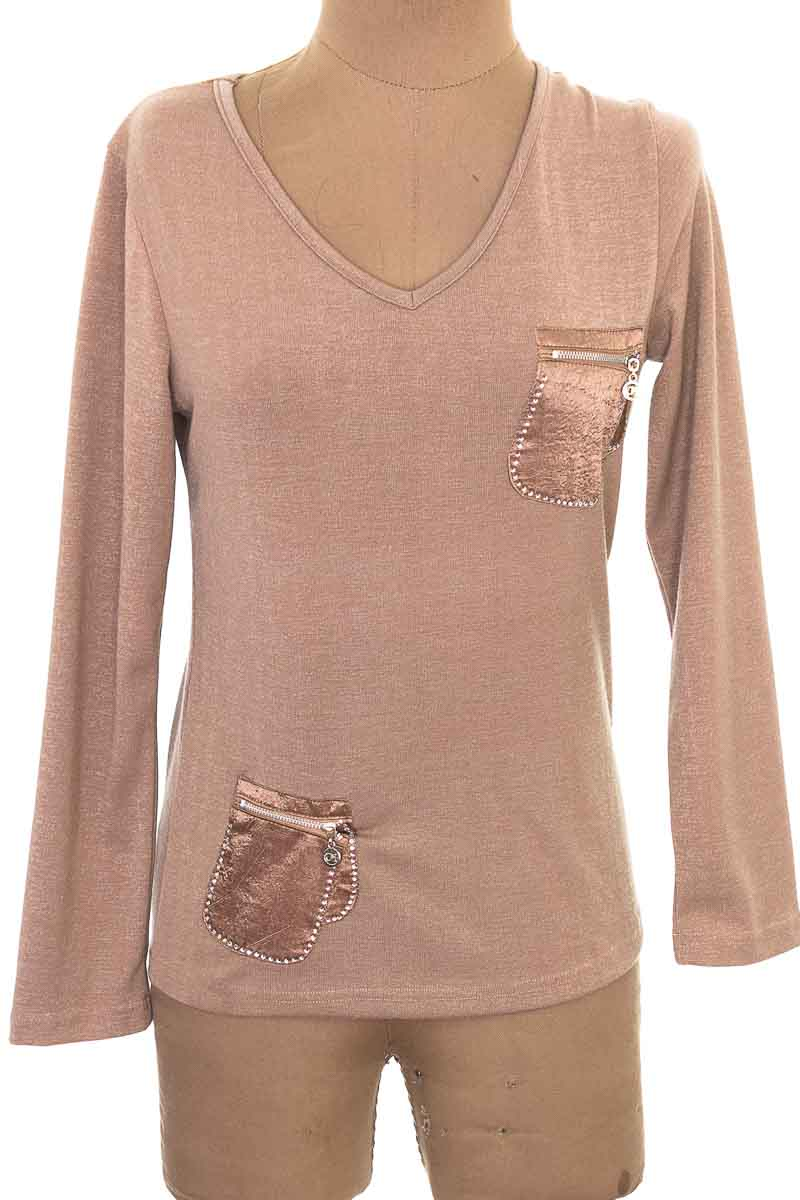 Sweater color Café - Hee Fashion