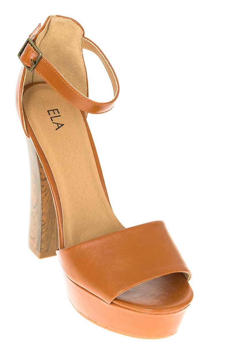 Zapatos color Café - ELA