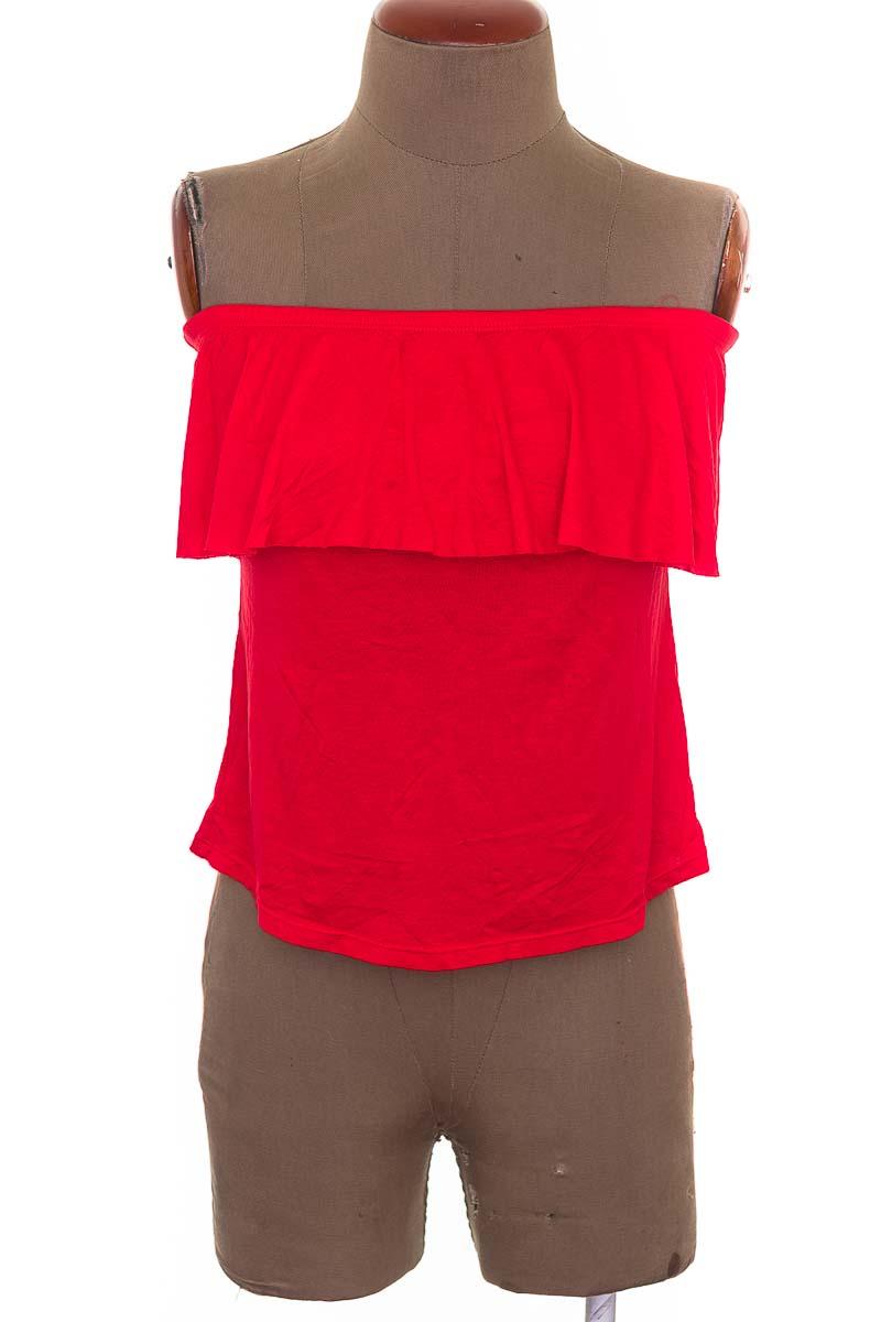 Top / Camiseta color Rojo - Caty Ross