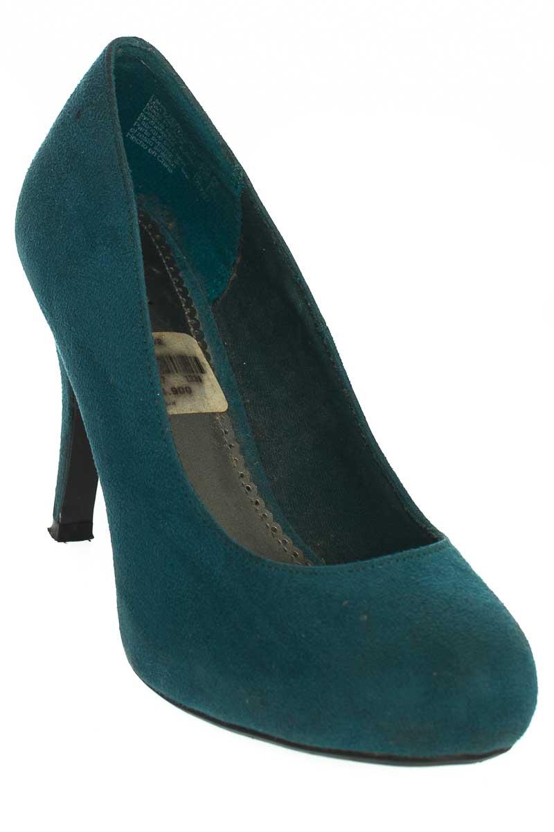 Zapatos Tacón color Verde - Fioni