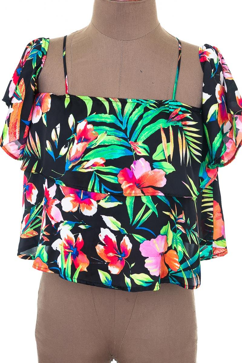 Blusa Casual color Negro - ELA
