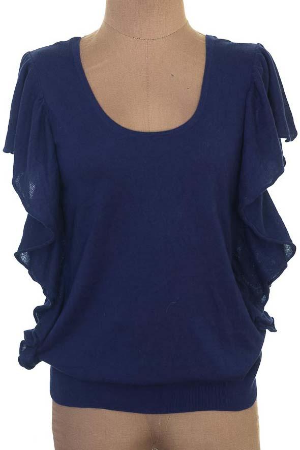 Sweater color Azul - Esprit