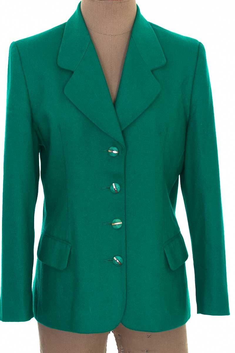Chaqueta / Abrigo color Verde - Exclusivo