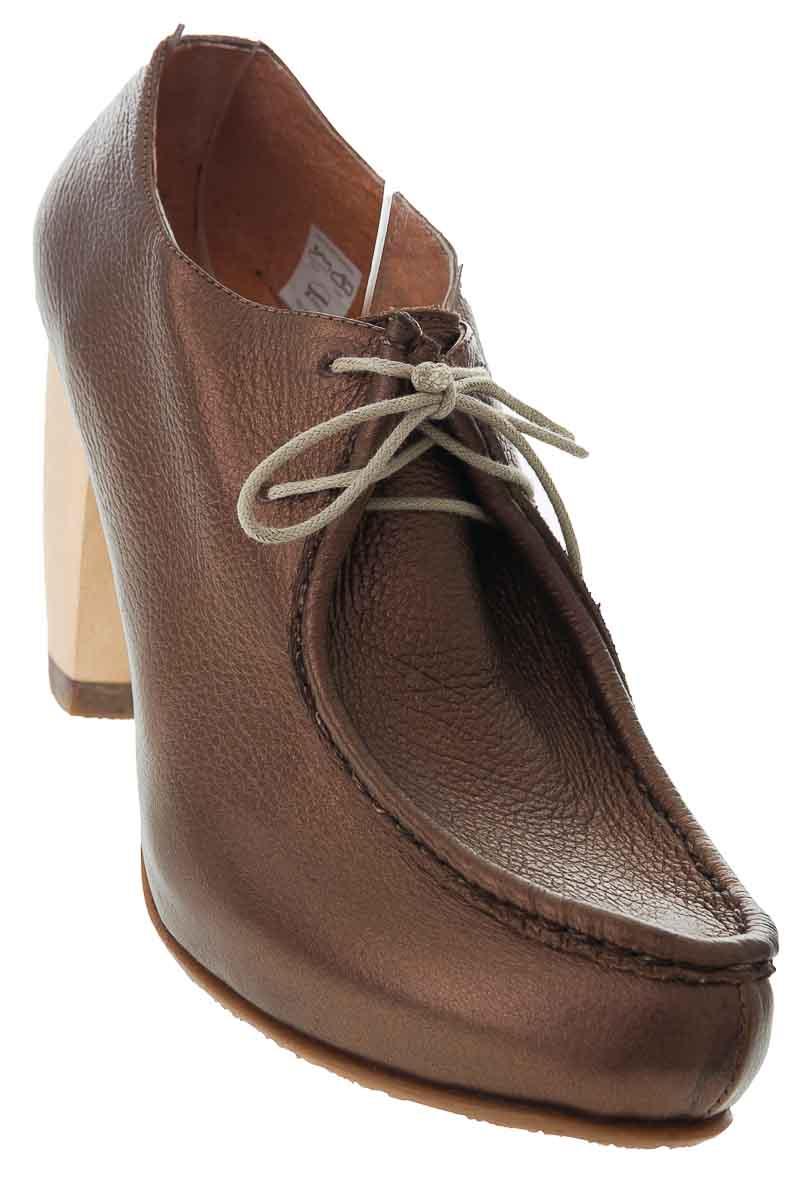 Zapatos Botín color Café - Tamara