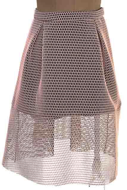 Falda Casual color Rosado - aniina