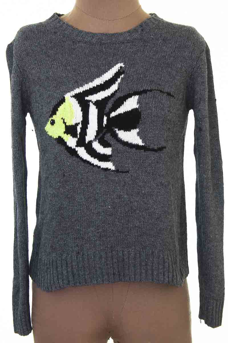 Sweater color Negro - MNG
