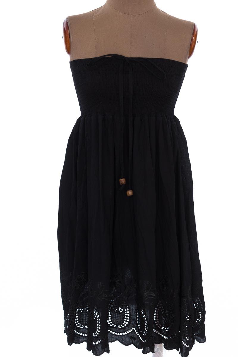 Vestido / Enterizo Casual color Negro - Gami Fashion