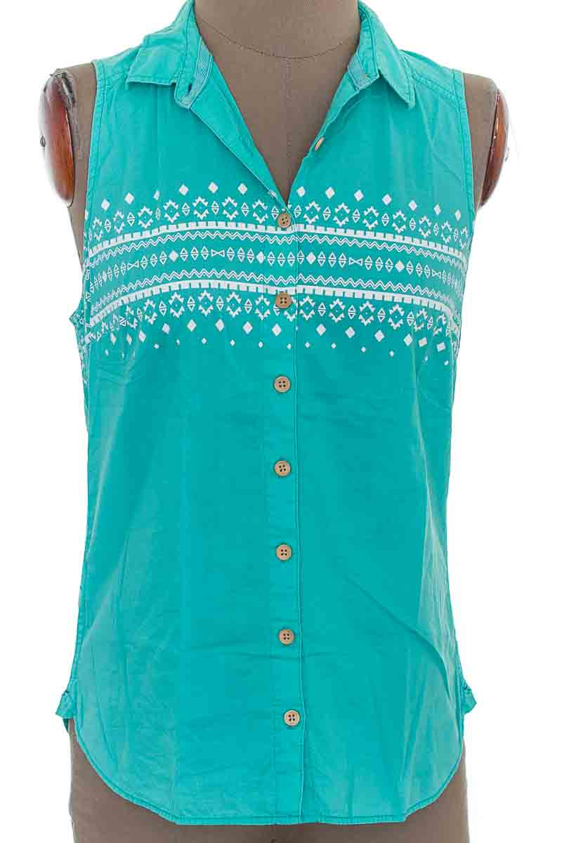 Blusa color Verde - Gef