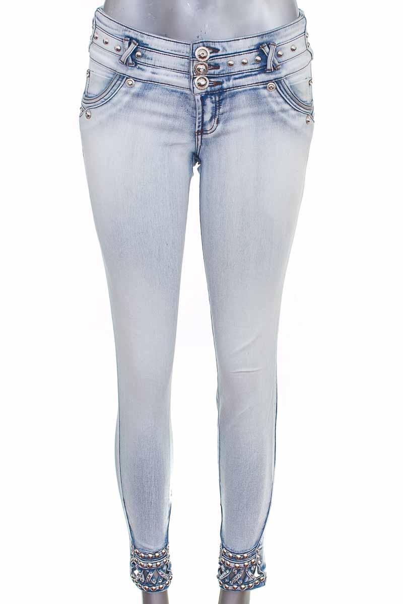 Pantalón color Azul - Checa