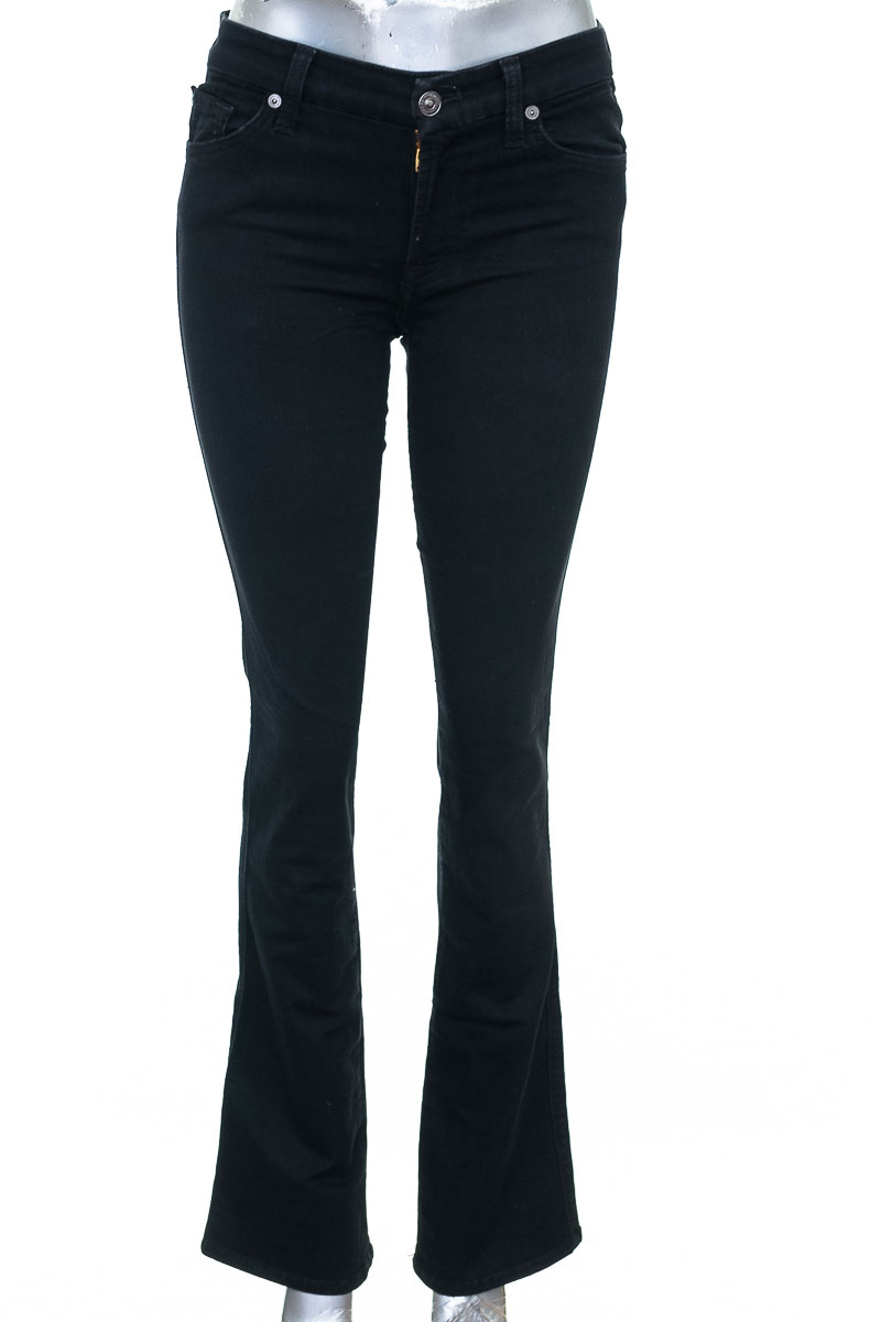 Pantalón color Negro - FOR ALL 7 MOMKIND