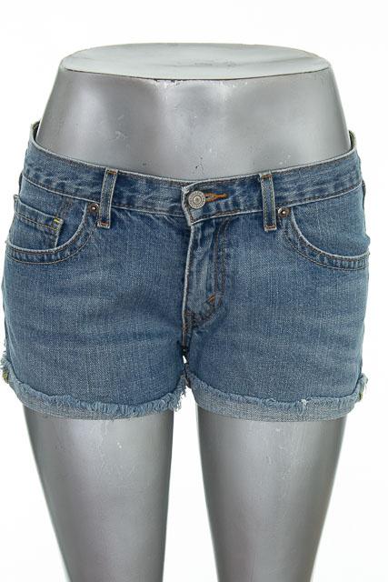 Short Jean color Azul - Levis