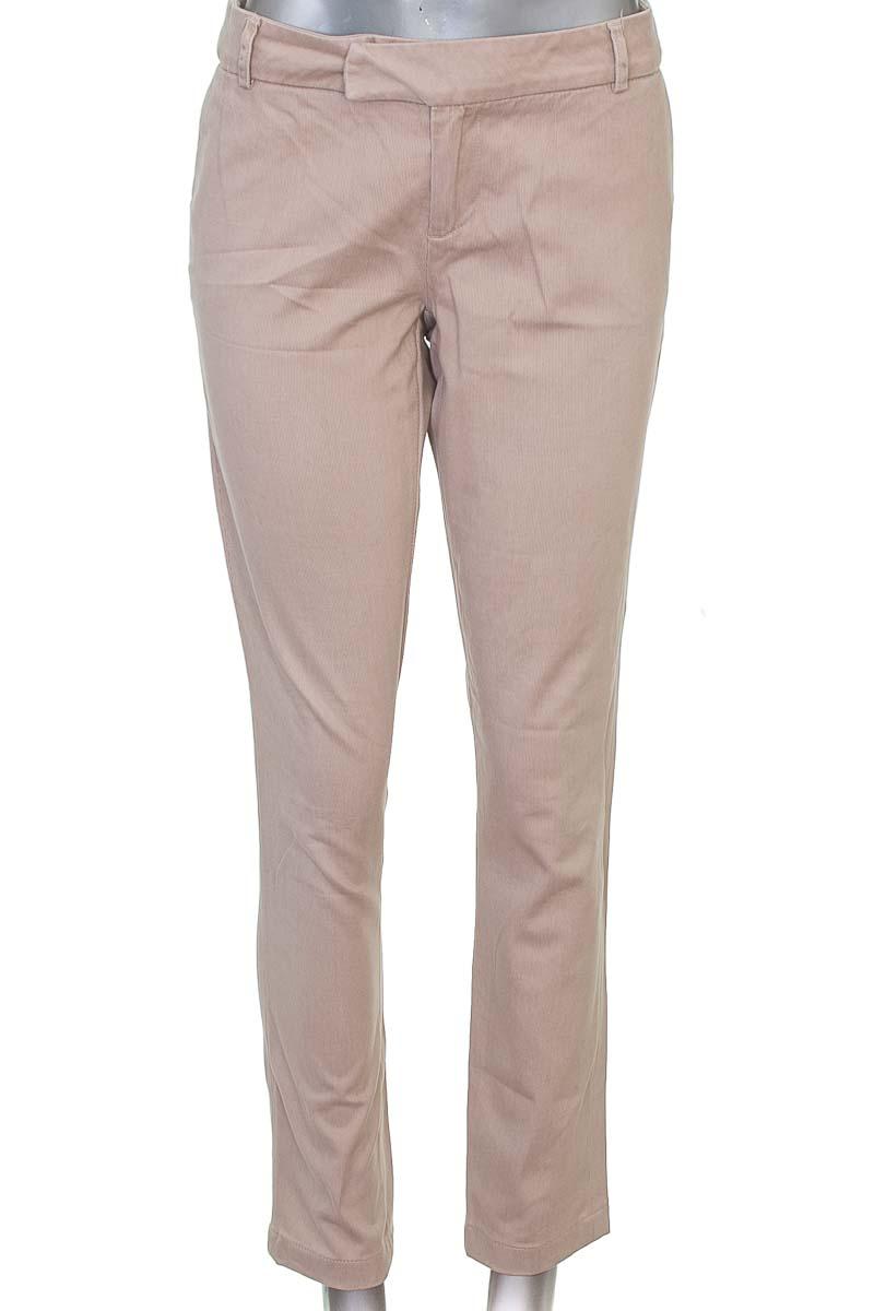 Pantalón Formal color Beige - NAF NAF