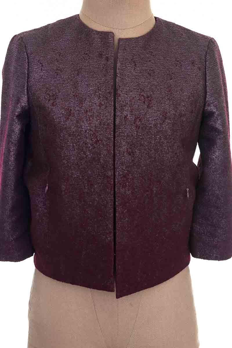 Chaqueta / Abrigo color Vinotinto - H&M