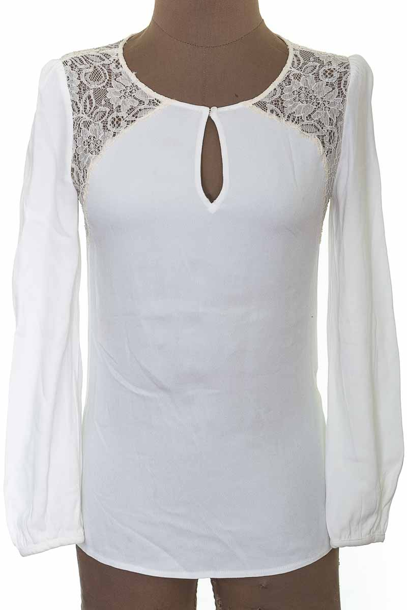 Blusa Casual color Blanco - Julio