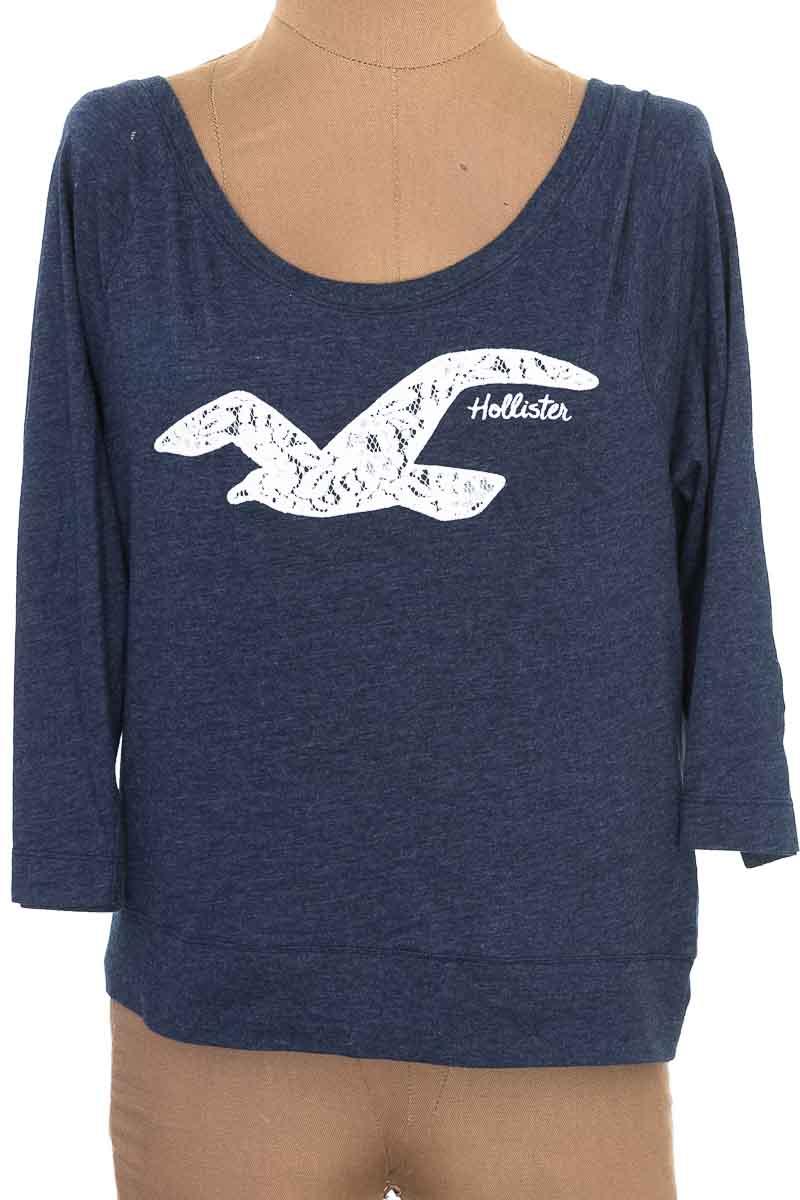Top / Camiseta color Azul - Hollister
