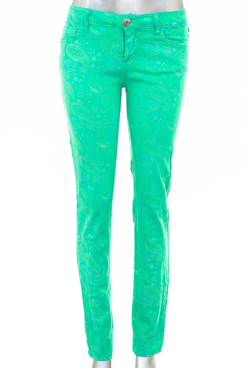 Pantalón Casual color Verde - Celebrity Pink